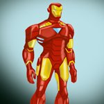 How to Draw Iron Man from The Avengers - Earth's Mightiest Heroes!