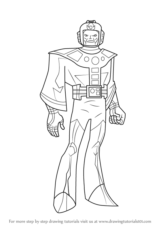 Superhelden Avengers Ausmalbilder: Learn How To Draw Kang The Conqueror From The Avengers