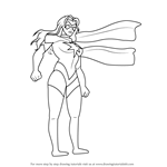 How to Draw Ms. Marvel from The Avengers - Earth's Mightiest Heroes!
