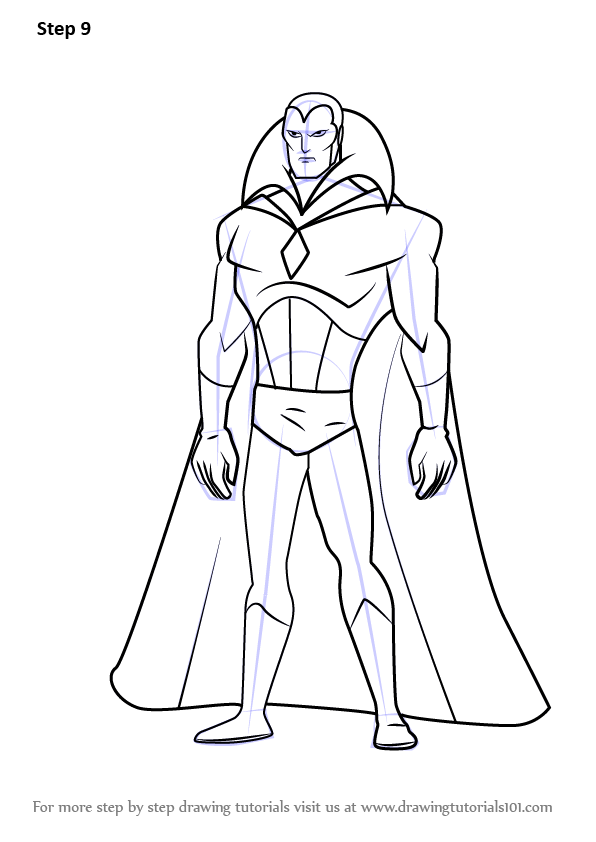 Learn How to Draw Vision from The