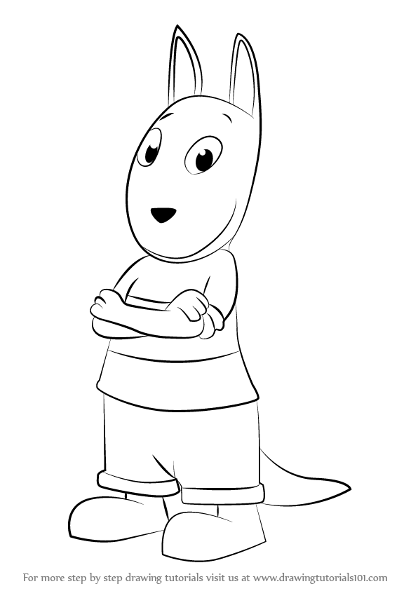 backyardigans coloring pages austin | Learn How to Draw Austin from The Backyardigans (The ...