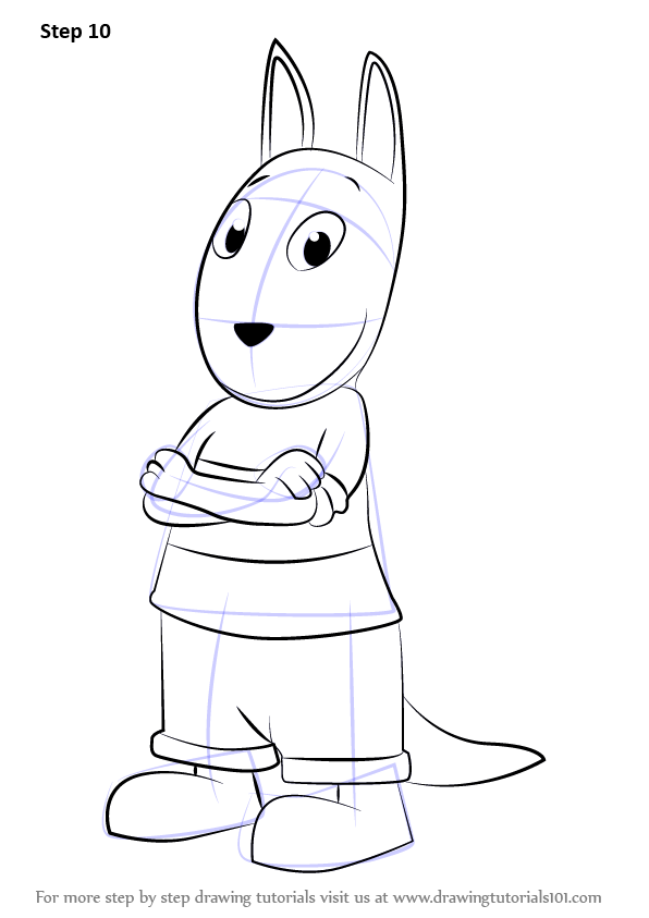 Learn How To Draw Austin From The Backyardigans The