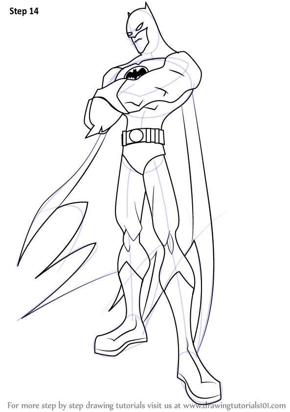 Learn How to Draw Batman from The Batman (The Batman) Step by Step ...