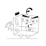 How to Draw Foop from The Fairly OddParents