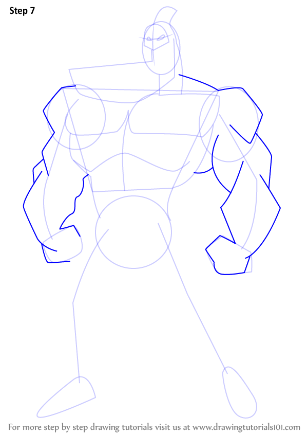 how to draw a shoulders