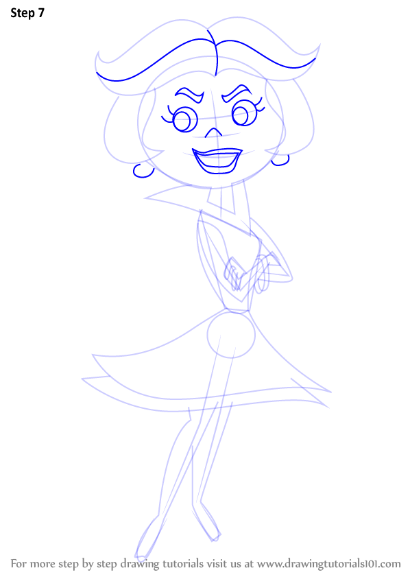 Learn How To Draw Jane Jetson From The Jetsons The