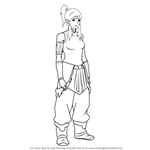 How to Draw Korra from The Legend of Korra