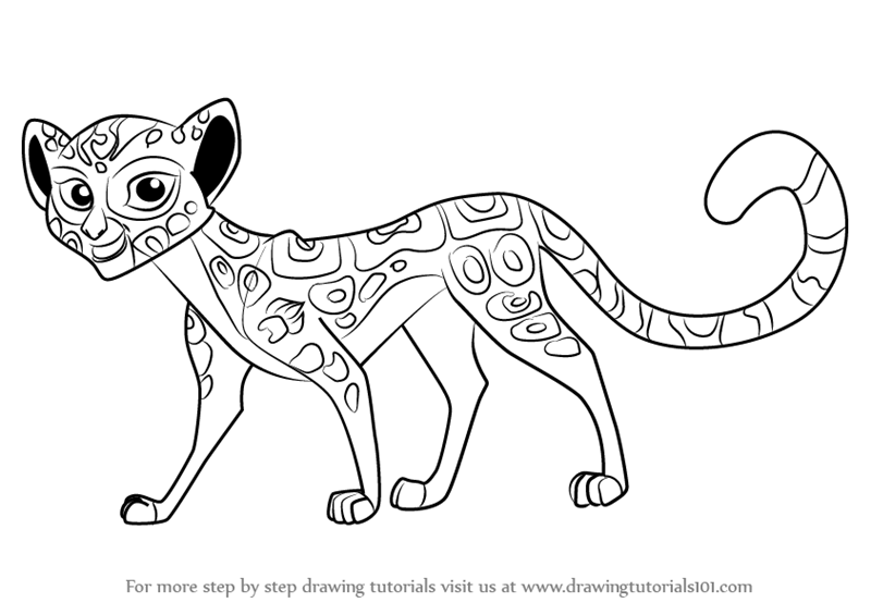 From The Lion Guard Fuli Coloring Pages Printable Coloring