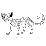 How to Draw Fuli from The Lion Guard