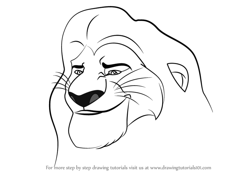 Dibujos Para Colorear De Disney likewise Special e N 37 moreover Watch likewise How To Draw Timon From The Lion Guard furthermore How To Draw Zira  Zira From The Lion King Drawing Sheet. on how to draw nala easy