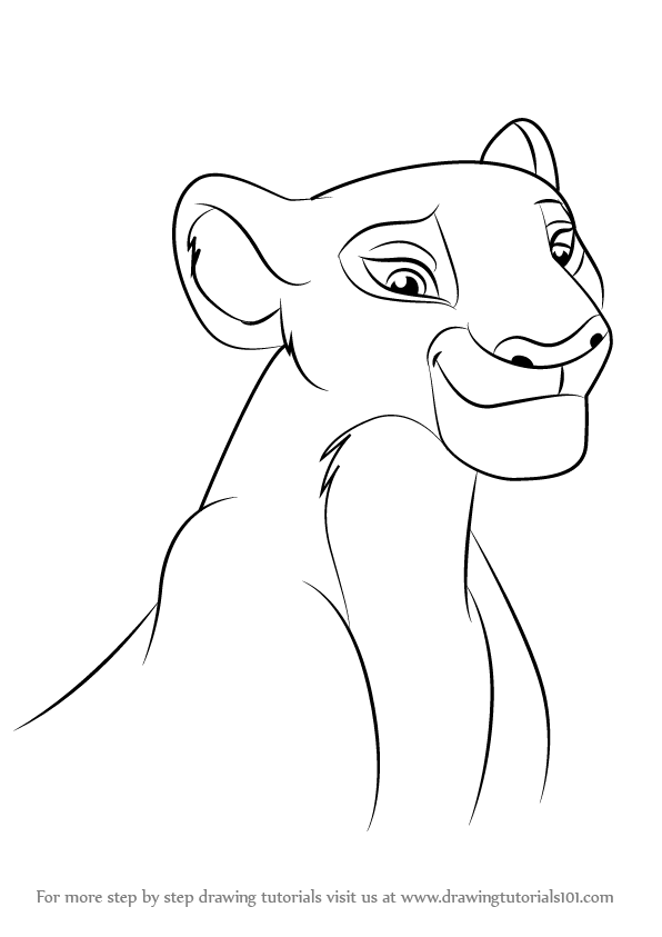 Learn How to Draw Nala from The