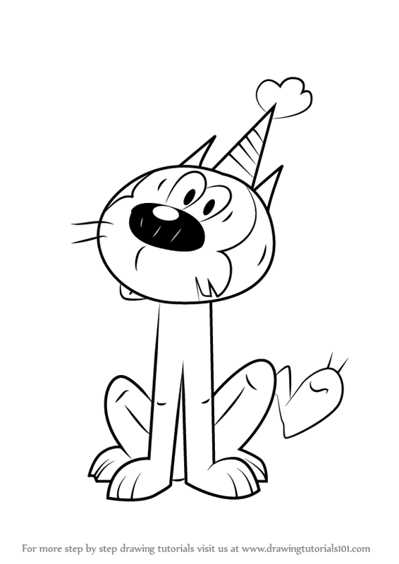 Loud house lineart sketch coloring page for Loud house printable coloring pages