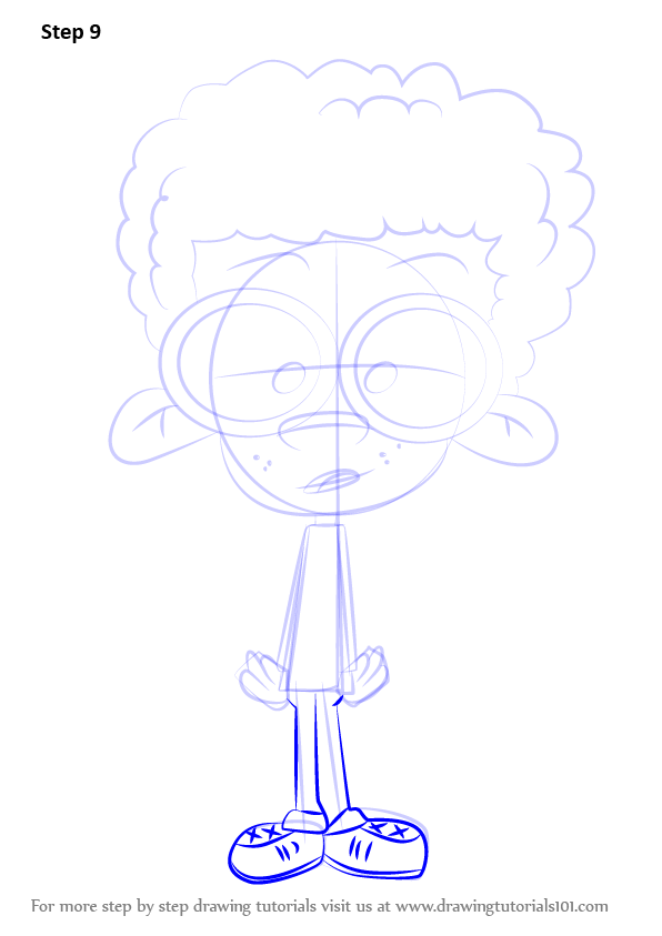 learn how to draw clyde mcbride from the loud house  the loud house  step by step   drawing