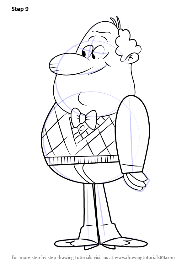 Learn How To Draw Harold Mcbride From The Loud House The