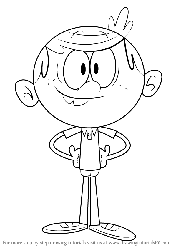 Learn How to Draw Lincoln Loud