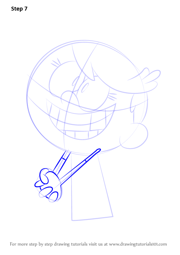 Learn How to Draw Lola Loud from The Loud House (The Loud