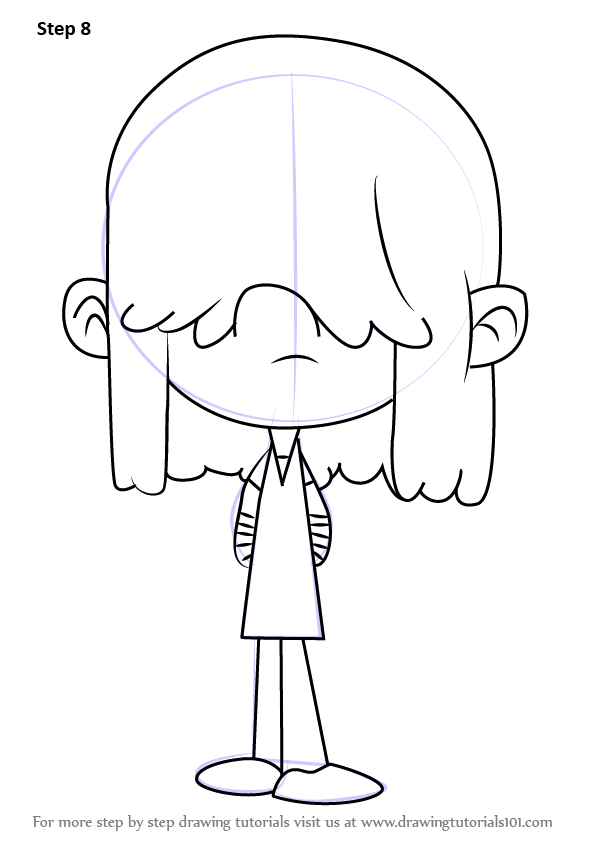 - Learn How To Draw Lucy Loud From The Loud House (The Loud House) Step By  Step : Drawing Tutorials