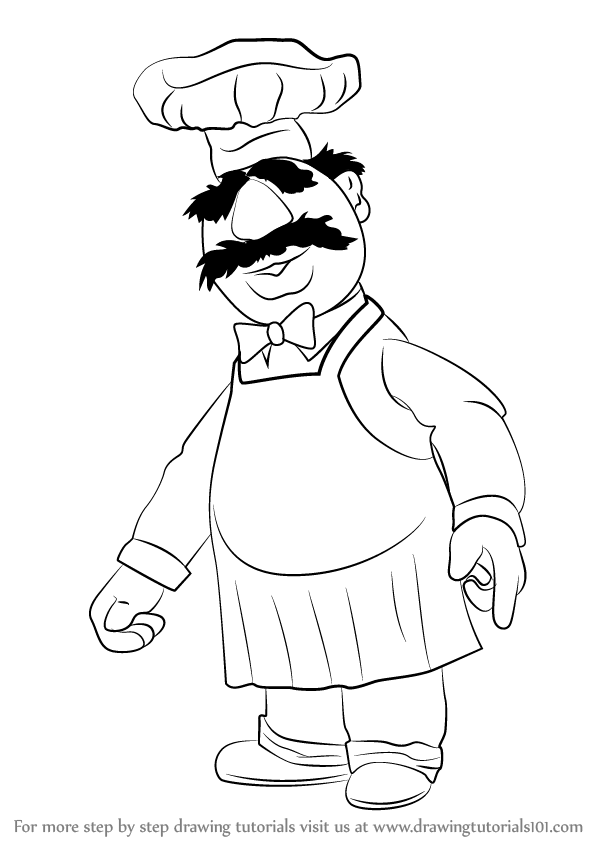 muppet swedish chef coloring pages - photo#26