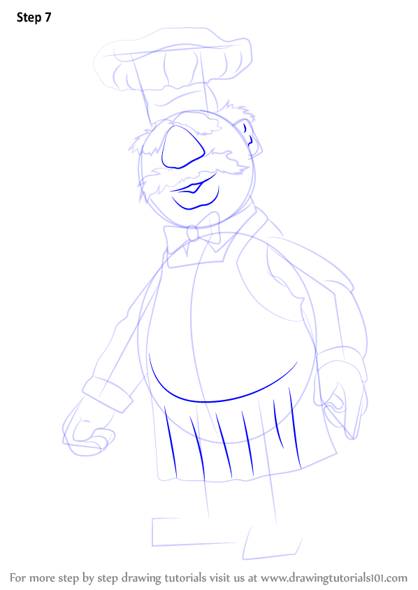 Learn How To Draw Swedish Chef From The Muppet Show The