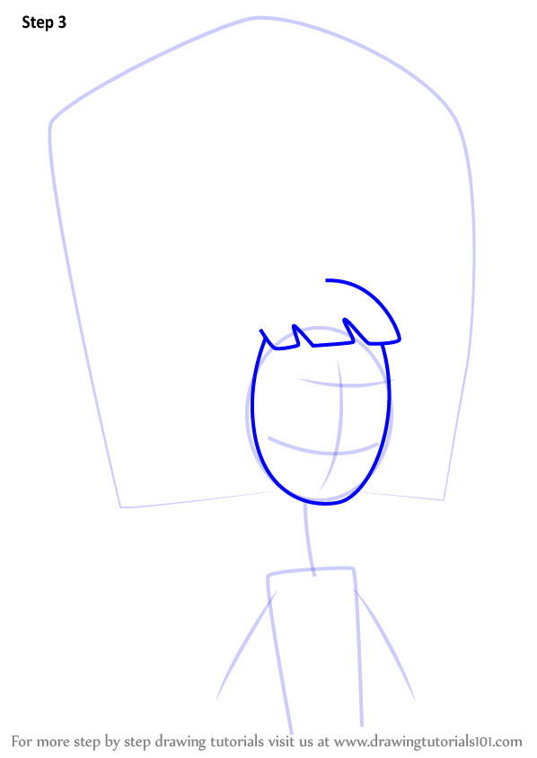 Learn How To Draw Debbie Klimer From The Oblongs The