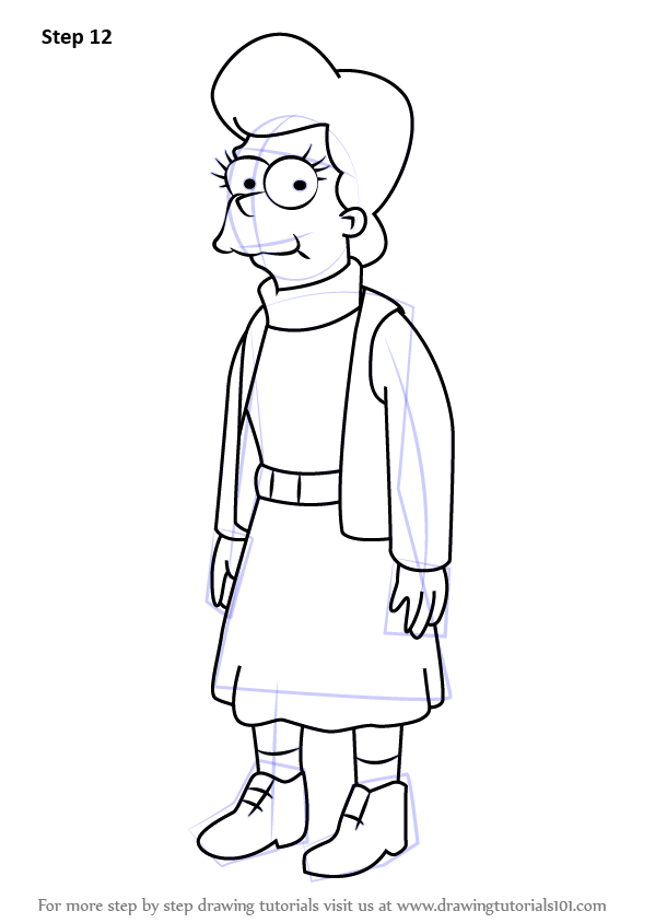 how to draw ralph from the simpsons