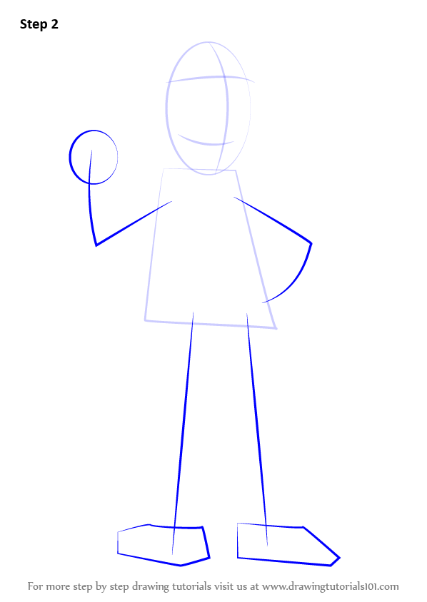 Learn How To Draw Ned Flanders From The Simpsons The