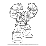 How to Draw Bulldozer from The Super Hero Squad Show