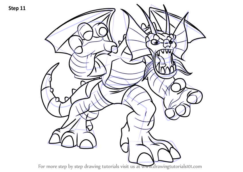 Learn How To Draw Fin Fang Foom From The Super Hero Squad