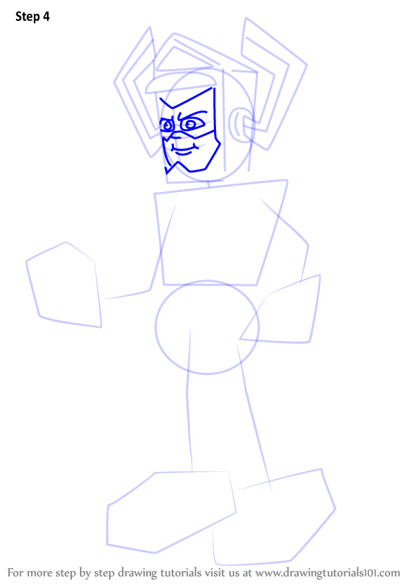 Learn How To Draw Galactus From The Super Hero Squad Show