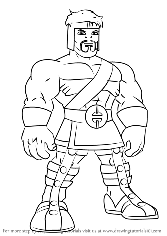 how to draw zeus from hercules