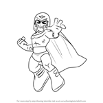 How to Draw Magneto from The Super Hero Squad Show