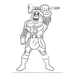 How to Draw Ronan the Accuser from The Super Hero Squad Show