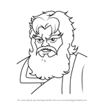 How to Draw Zeus from The Super Hero Squad Show