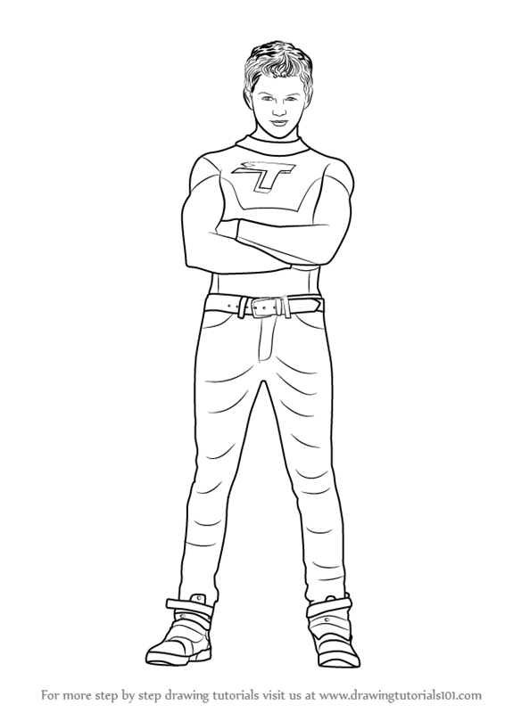 The Thundermans Coloring Pages
