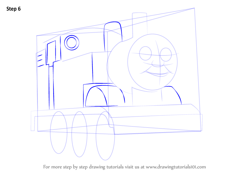 Learn How to Draw Thomas the Tank Engine (Thomas & Friends ...