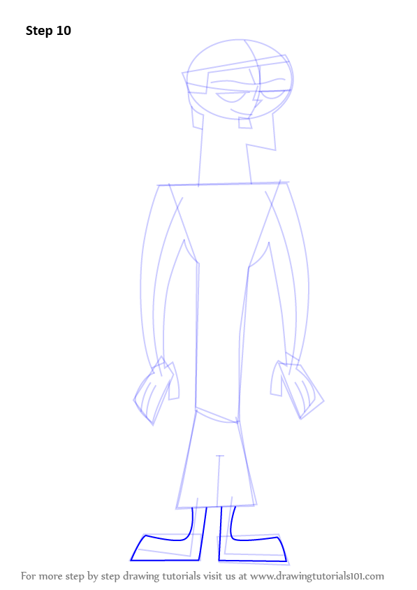 how to draw total drama island style