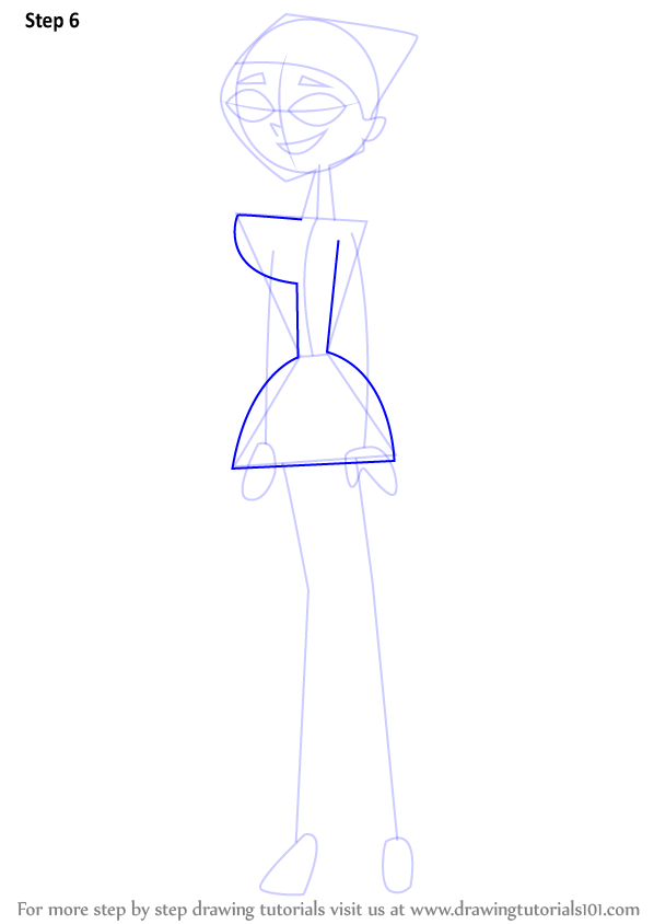 Learn How to Draw Lindsay from Total Drama Island Total
