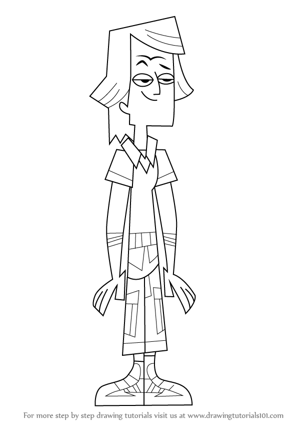 Total Drama Zoey Pages Coloring Pages