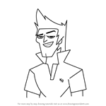 How to Draw Brady from Total Drama