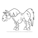 How to Draw Horse from Total Drama