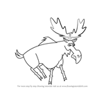 How to Draw Moose from Total Drama