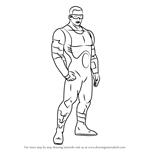 How to Draw Power Man from Ultimate Spider-Man