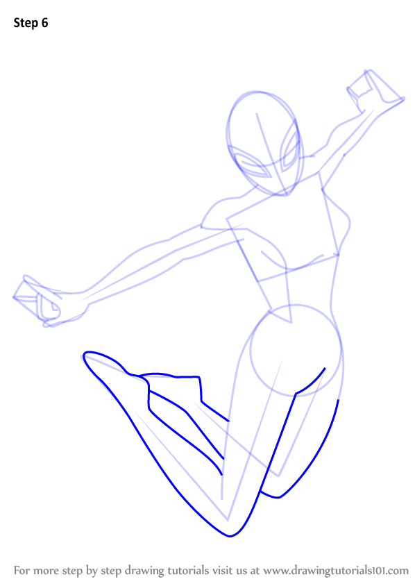 Learn How To Draw Spider Girl From Ultimate Spider Man