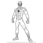 How to Draw Ultimate Spider-Man