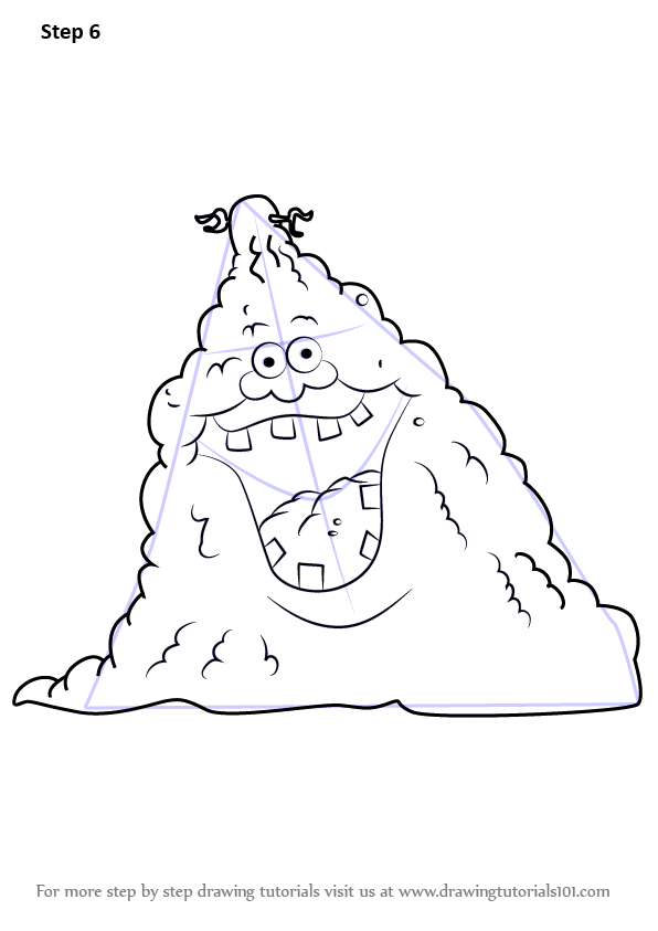Learn How To Draw Dirt Pile From Uncle Grandpa Uncle