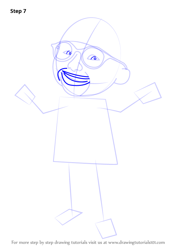 Learn How To Draw Ehsan From Upin Amp Ipin Upin Amp Ipin