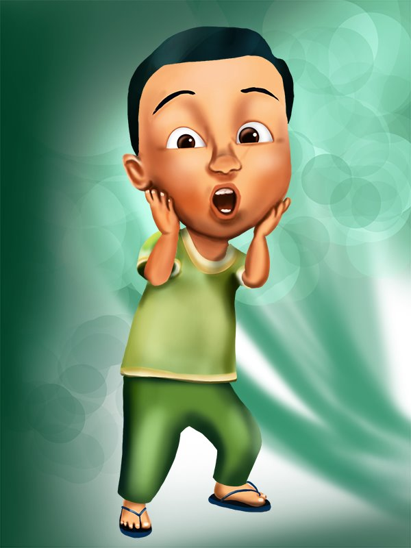 Get free wallpapers for your desktop Mail Upin Ipin 35857, Height: 514 ...