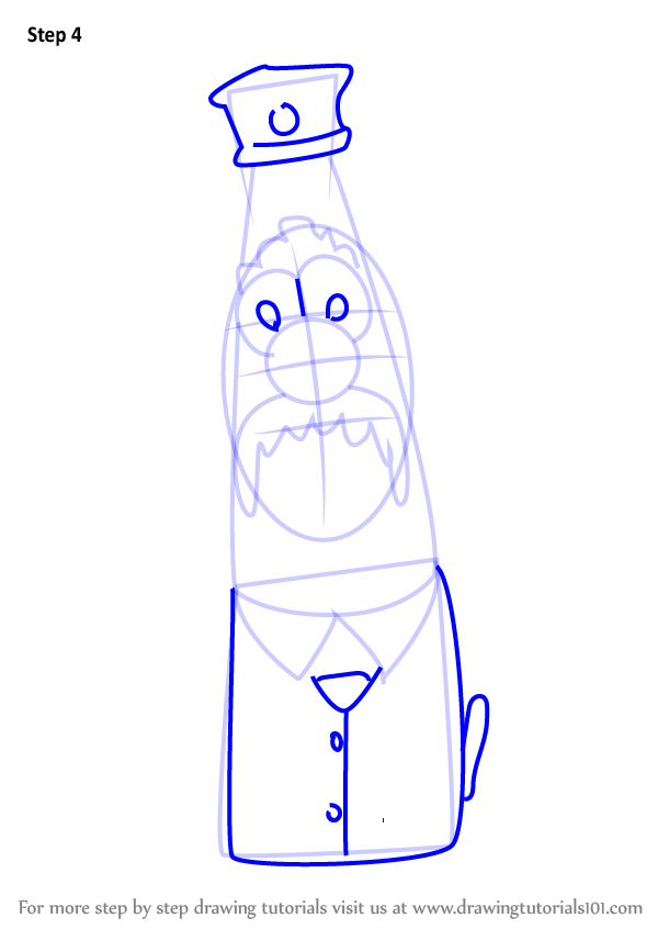 Learn How To Draw Scooter From Veggietales Veggietales