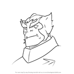 How to Draw Commander Prorok from Voltron - Legendary Defender