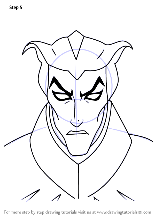 Learn How to Draw Haxus from Voltron